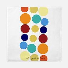 Bright Polka Dots Queen Duvet