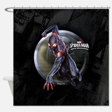 Web Warriors Miles Morales Shower Curtain