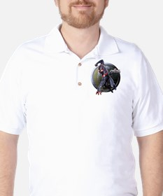 Web Warriors Miles Morales Golf Shirt
