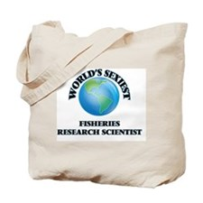 World's Sexiest Fisheries Research Scient Tote Bag