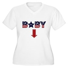 4th of July baby arrow T-Shirt