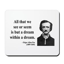 Edgar Allan Poe 1 Mousepad