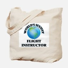World's Sexiest Flight Instructor Tote Bag