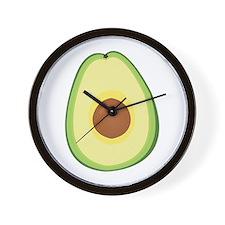 Avacado Wall Clock