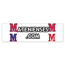 Bumper Sticker de los Atenienses