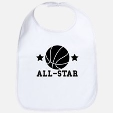 Basketball All Star Baby Bib