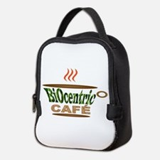Biocentric Cafe Neoprene Lunch Bag