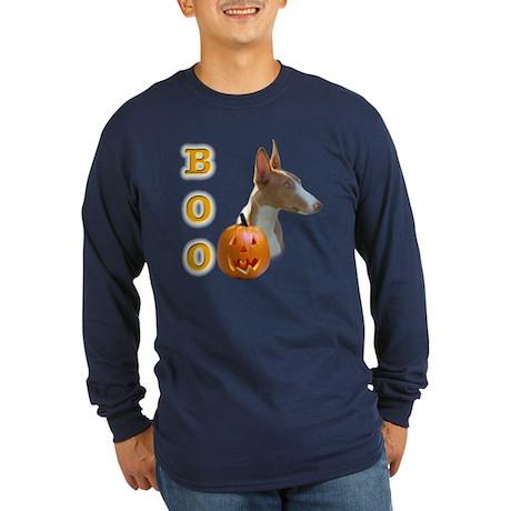 Ibizan Boo Long Sleeve Dark T-Shirt
