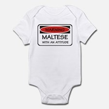 Attitude Maltese Infant Bodysuit