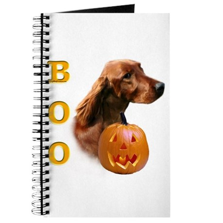 Irish Setter Boo Journal