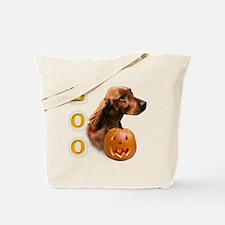 Irish Setter Boo Tote Bag