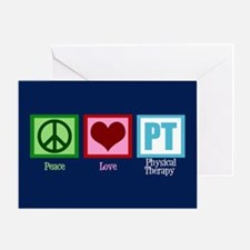PT Blue Greeting Card