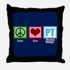 PT Blue Throw Pillow