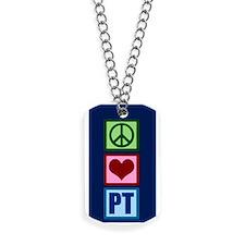 PT Blue Dog Tags
