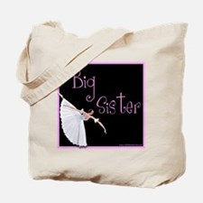 Ballet Big sister Tote Bag