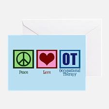 OT Blue Greeting Card