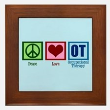 OT Blue Framed Tile