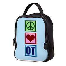 OT Blue Neoprene Lunch Bag