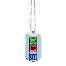 OT Blue Dog Tags