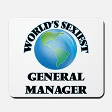 World's Sexiest General Manager Mousepad