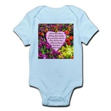 ROMANS 8:28 Infant Bodysuit