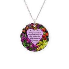 ROMANS 8:28 Necklace