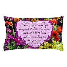 ROMANS 8:28 Pillow Case