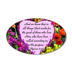 ROMANS 8:28 Wall Decal