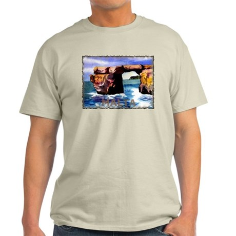 Vintage Malta Art Light T-Shirt