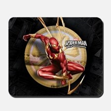 Web Warriors Iron Spider Mousepad