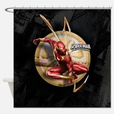 Web Warriors Iron Spider Shower Curtain