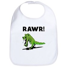 Rawr! Dinosaur Bib