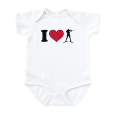 I love Biathlon Infant Bodysuit