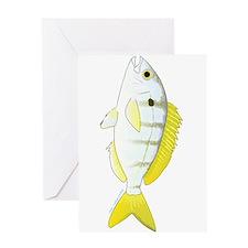 Pinfish Greeting Cards