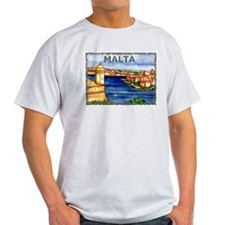 Vintage Malta Art T-Shirt