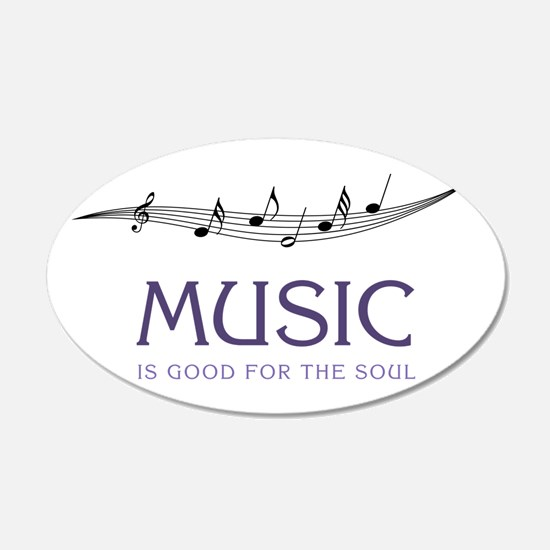 Music For Soul Wall Decal