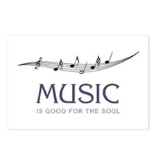 Music For Soul Postcards (Package of 8)