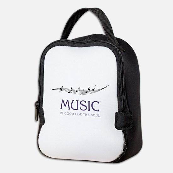 Music For Soul Neoprene Lunch Bag