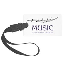 Music For Soul Luggage Tag