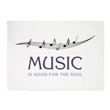 Music For Soul 5'x7'Area Rug