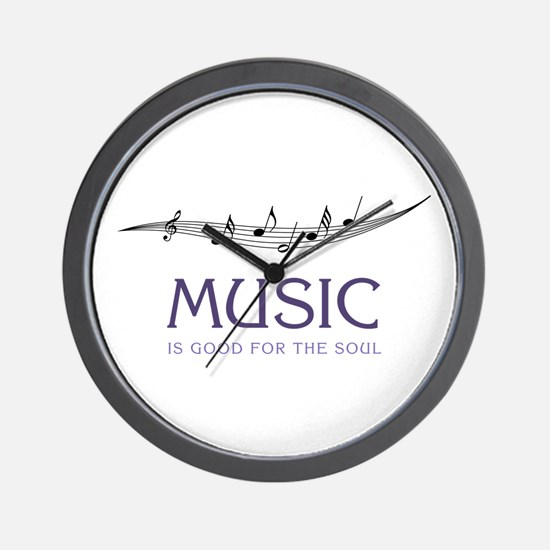 Music For Soul Wall Clock