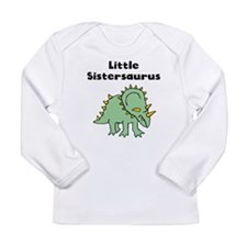 Little Sistersaurus Long Sleeve T-Shirt