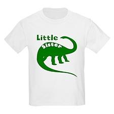 Little Sister Dinosaur T-Shirt