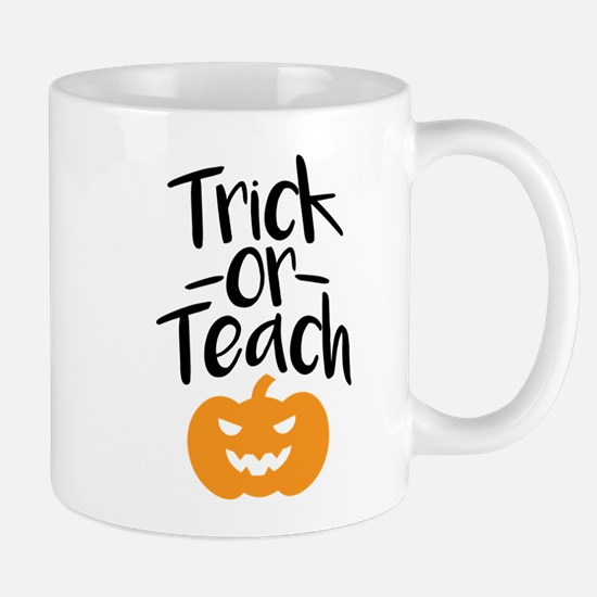 Trick or Teach Mugs