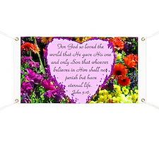 JOHN 3:16 Banner