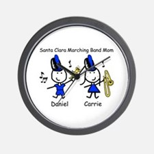 Santa Clara Band Mom Wall Clock
