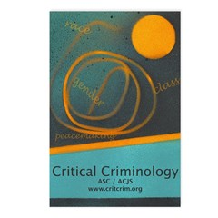 Critical Criminology - Postcards (Package of 8)