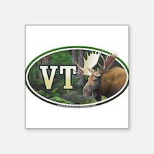 """Funny Vermont Square Sticker 3"""" x 3"""""""