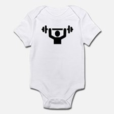 Weightlifting powerlifting Infant Bodysuit