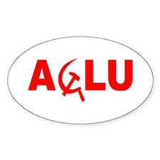 ACLU Oval Decal